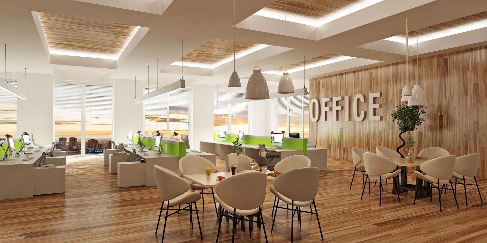 Büro Beleuchtung Office